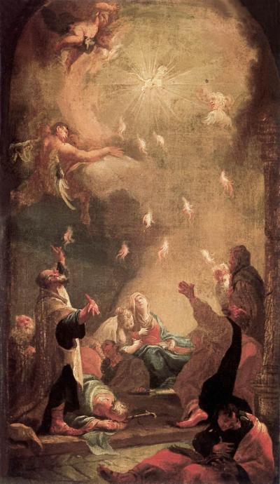 Dorffmaister_Istvan-Pentecost.1725-1797